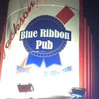 Photo taken at Jackson's Blue Ribbon Pub by Edward R. on 8/11/2012