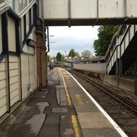 Photo taken at Brockenhurst Railway Station (BCU) by Adam R. on 5/19/2012