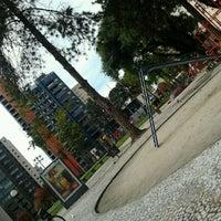 Photo taken at Praça Oswaldo Cruz by Line S. on 5/27/2012