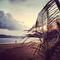 Photo taken at Bogmalo Beach by Varun P. on 8/4/2012