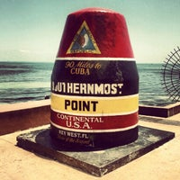 Photo taken at Southernmost Point Buoy by Pierre Olivier C. on 8/1/2012
