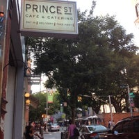 Photo taken at Prince Street Cafe by Ariel M. on 8/26/2012