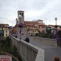 Photo taken at Ponte del Diavolo by Cinzia on 9/1/2012