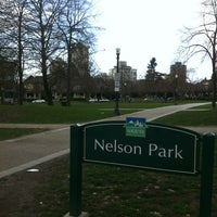 Photo taken at Nelson Park by Fabio R. on 3/21/2012