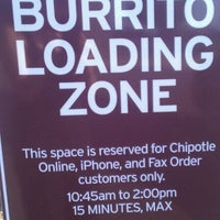 Photo taken at Chipotle Mexican Grill by Erica H. on 2/12/2012