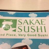 Photo taken at Sakae Sushi by Nel M A. on 3/18/2012