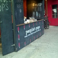 Photo taken at People's Pops by Mike F. on 8/9/2012