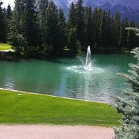 Photo taken at Canmore Golf & Curling Club by Cathy R. on 8/6/2012