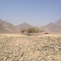 Photo taken at Fujairah Mountains by Pie M. on 8/20/2012