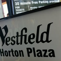 Photo taken at Westfield Horton Plaza by Karma S. on 7/16/2012