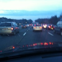 Photo taken at I-95 HOV Merge (The Merge) by Brent I. on 3/16/2012
