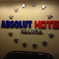Photo taken at Absolut hotel by Alexey P. on 8/14/2012