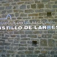 Photo taken at Museo de Dibujo Castillo de Larrés by Luis Z. on 3/18/2012