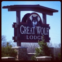 Photo taken at Great Wolf Lodge by Christian K. on 2/28/2012