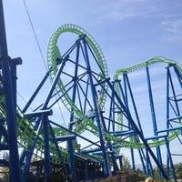 Photo taken at Silverwood Theme Park by Jen R. on 8/13/2012