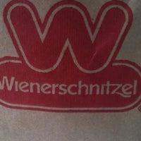 Photo taken at Wienerschnitzel by James P. on 4/18/2012