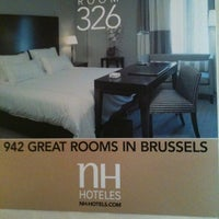 Photo taken at Hotel NH Collection Brussels Centre by Suwan P. on 5/17/2012