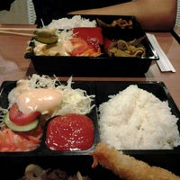 Photo taken at Hoka Hoka Bento by Bucil U. on 5/19/2012