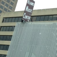 Photo taken at Alamo Music Center by Allan M. on 4/26/2012