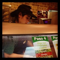Photo taken at Subway by Angela B. on 8/30/2012