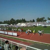 Photo taken at Estadio Wilfrido Massieu by Angel B. on 5/20/2012