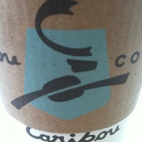 Photo taken at Caribou Coffee by Craig K. on 4/18/2012