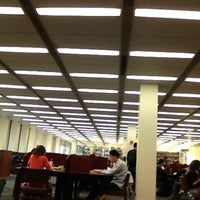 Photo taken at Langson Library (LLIB) by Maria Cariza V. on 2/23/2012