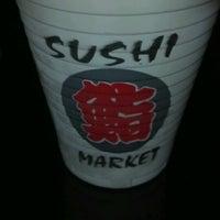 Photo taken at Sushi Market by Jhojans T. on 7/11/2012
