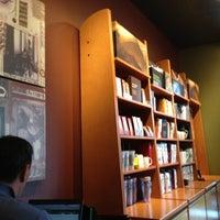 Photo taken at Starbucks by Elena D. on 3/14/2012