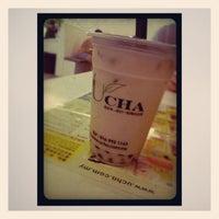 Photo taken at UCha优茶 by MeiErn T. on 9/13/2012