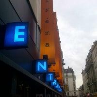 Photo taken at L'Entrepôt - Cinéma by Filip M. on 5/30/2012