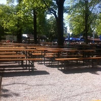 Photo taken at Königlicher Hirschgarten by Dominik L. on 5/8/2012