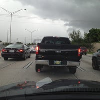 Photo taken at Interstate 95 & 95th Street by Ben C. on 5/18/2012