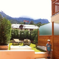 Photo taken at Alp Holiday Dolomiti by Giulio R. on 7/15/2012