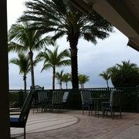 Photo taken at Ocean Cabana Bar & Bistro by Scott M. on 2/8/2012