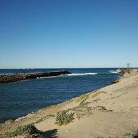 Photo taken at West Beach Pier by Jason C. on 6/11/2012