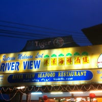Photo taken at River View Seafood Restaurant by bdk sepet on 6/17/2012