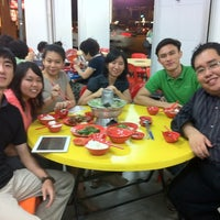 Photo taken at Nan Hwa Chong Fish-Head Steamboat Corner by Rachel R. on 3/21/2012