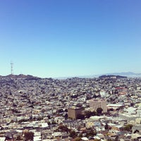 Photo taken at Bernal Heights Park by Mary B. on 7/10/2012