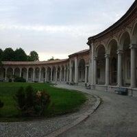 Photo taken at Rotonda della Besana by Maria R. on 4/28/2012