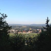 Photo taken at Vyhlídka Na skalce by Tereza K. on 8/13/2012