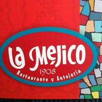 Photo taken at La Méjico by Nana F. on 6/10/2012