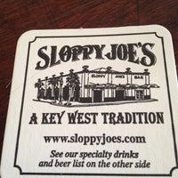 Photo taken at Sloppy Joe's Bar by Alice V. on 5/27/2012
