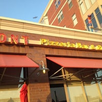 Photo taken at Riverfront Pizzeria by David A. on 7/26/2012