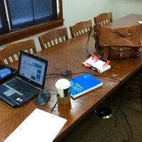 Photo taken at Dwight Foster Public Library by Nehpetsmai K. on 3/29/2012