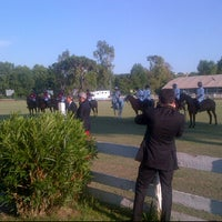Photo taken at Roma Polo Club by Fabiano T. on 5/29/2012