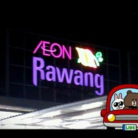 Photo taken at AEON Rawang Anggun Shopping Centre by Phoenix C. on 8/6/2012