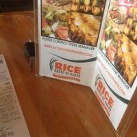 Photo taken at RICE House of Kabob by Robinson B. on 3/10/2012