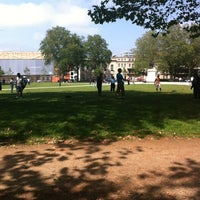 Photo taken at Queen Square by Jon C. on 6/28/2012