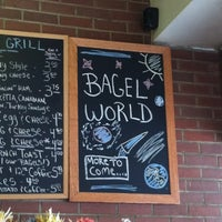 Photo taken at Bagel World by M. W. on 3/25/2012
